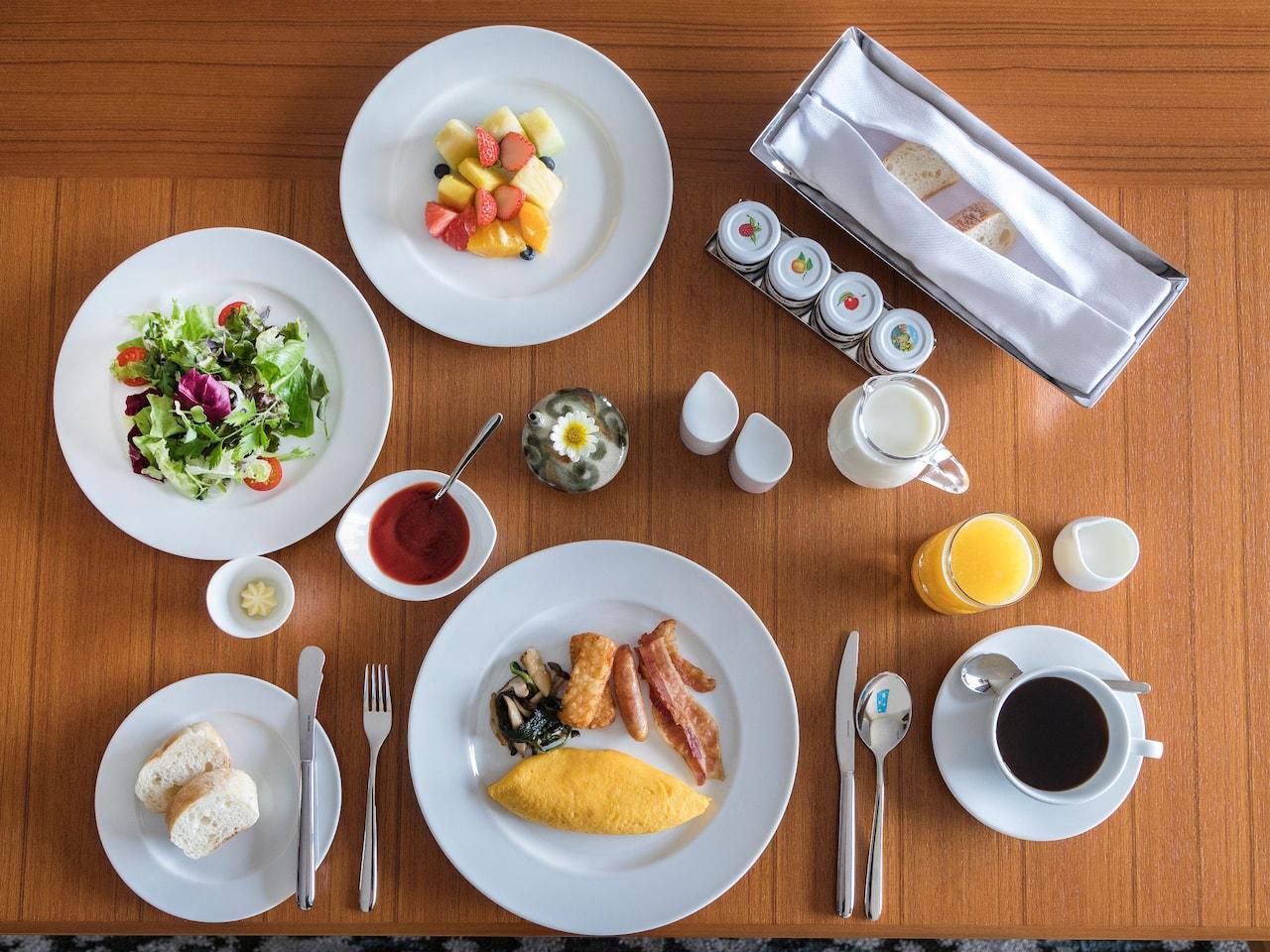 Hyatt Regency Seragaki Island Okinawa In-Room Dining