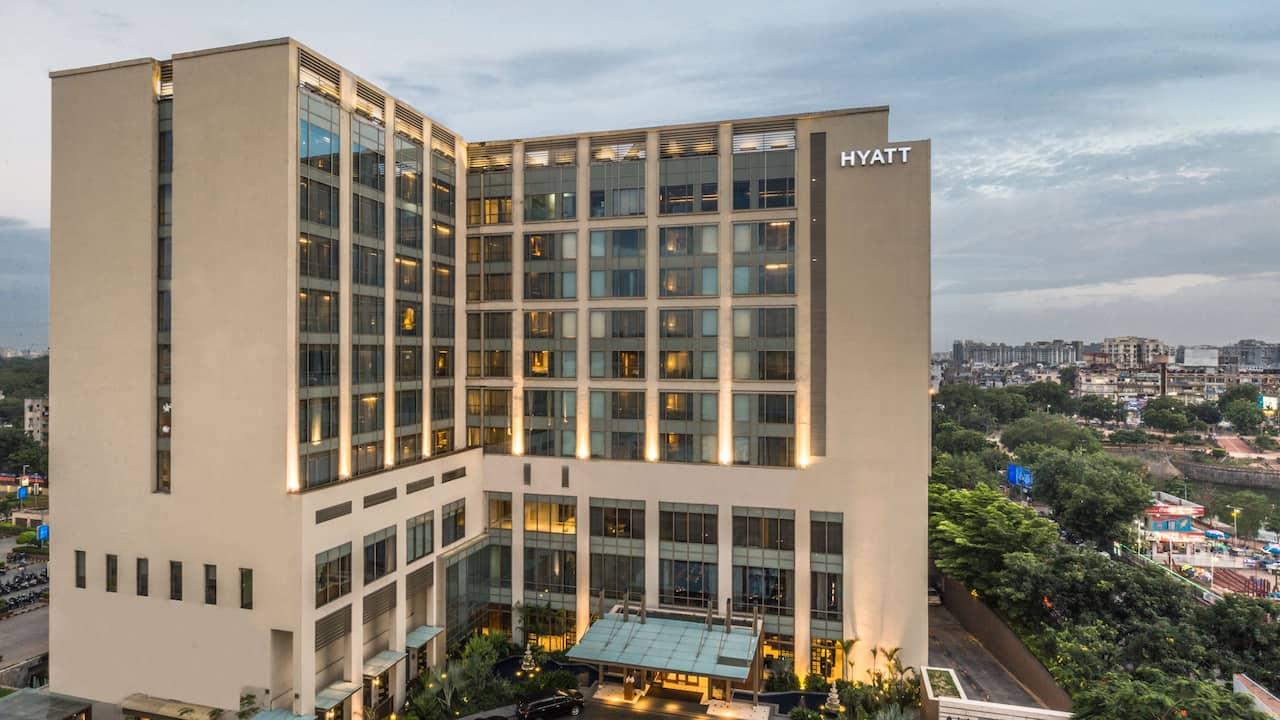 Hyatt Ahmedabad Hotel Exterior
