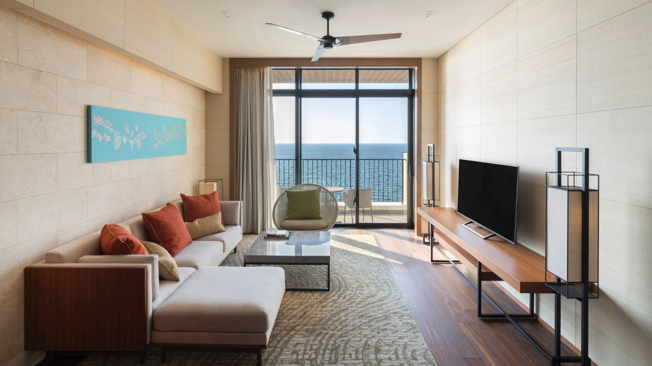 Hyatt Regency Seragaki Island, Okinawa Ocean Suite Living Room