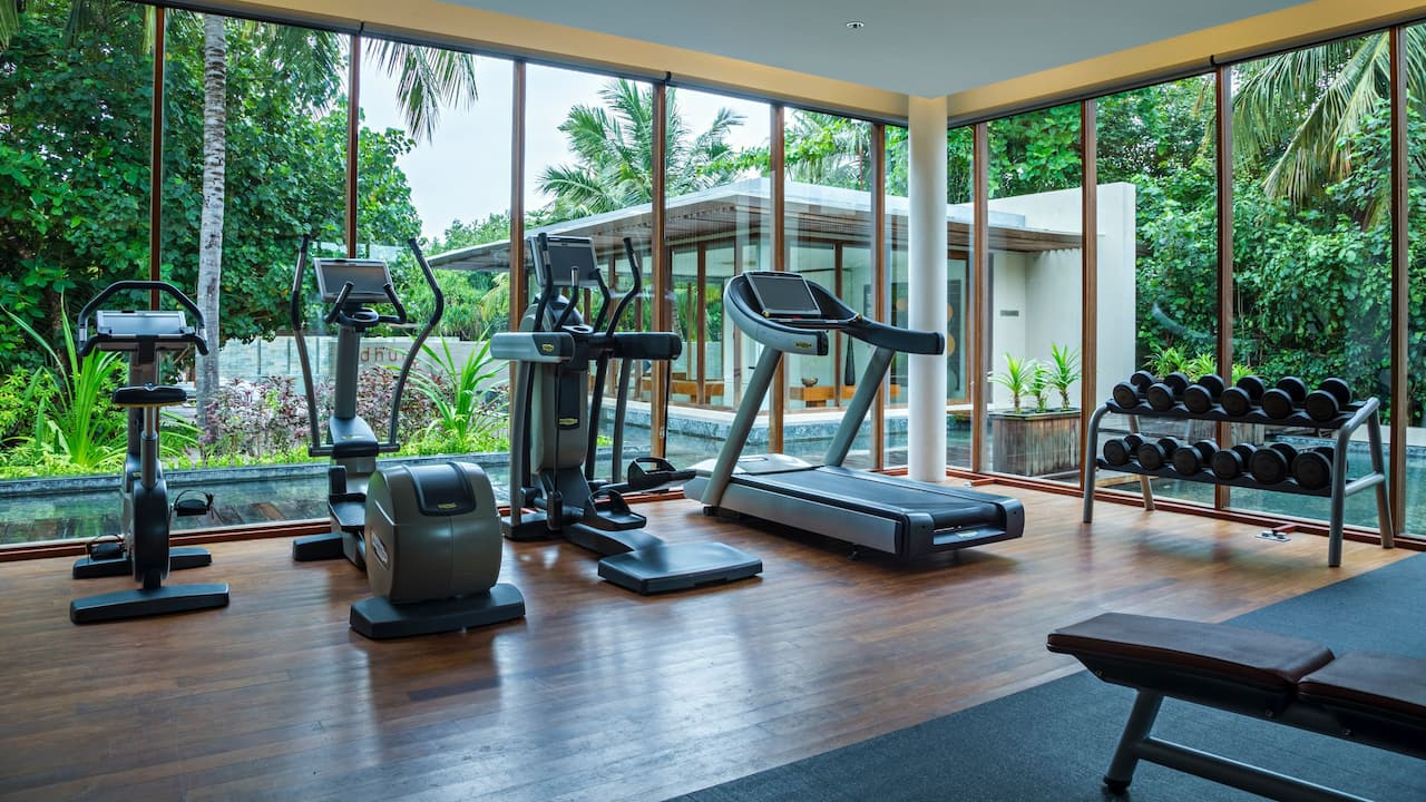 5-star Maldives Resort Fitness