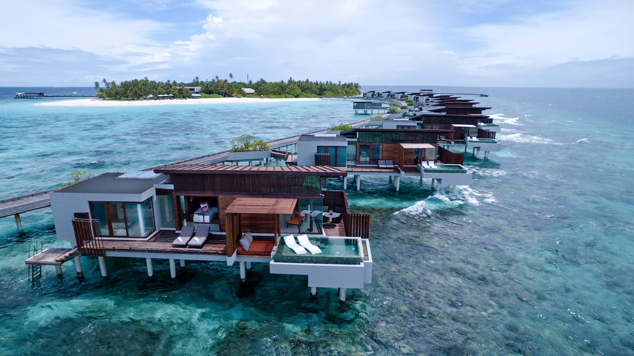 Water Villa and Island View