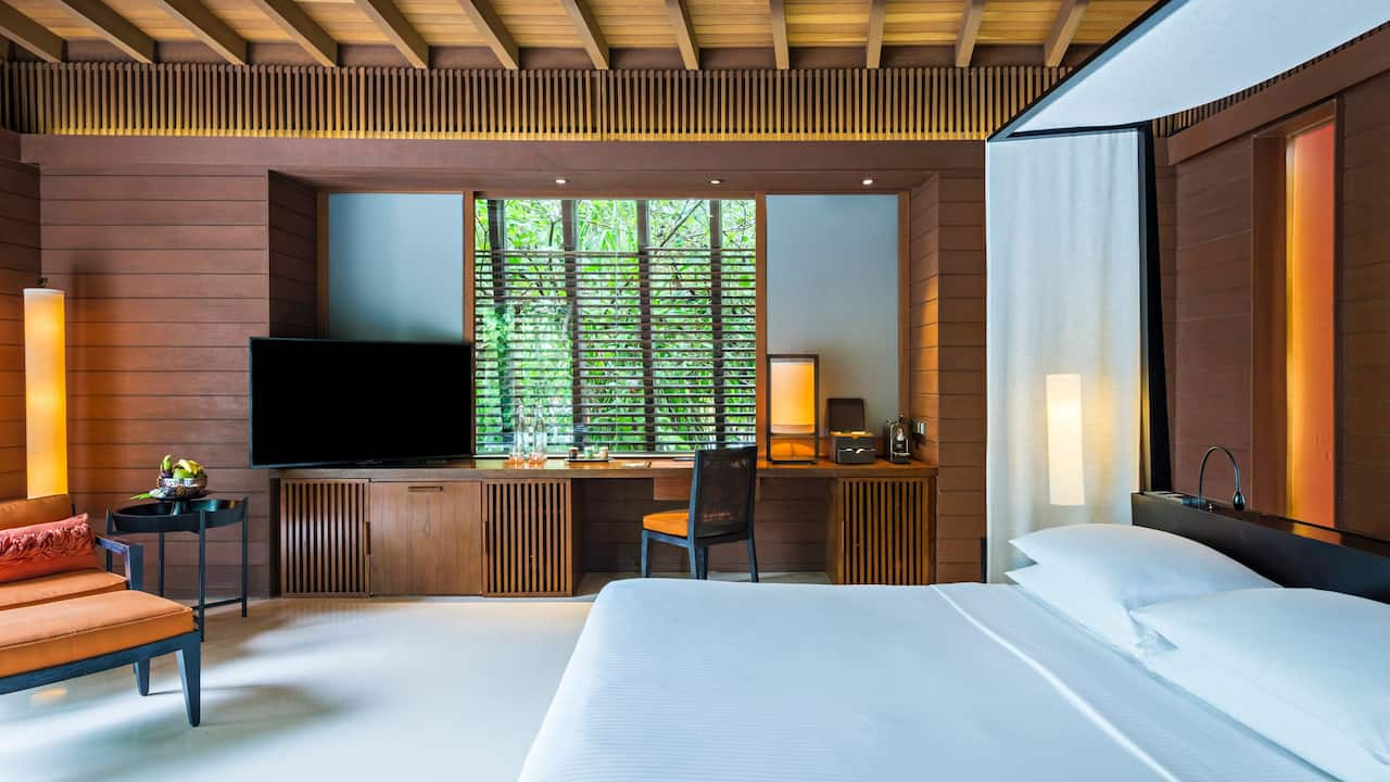 Park Villa Bedroom