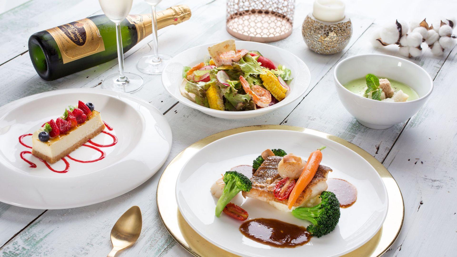 台北君悅聖誕大餐