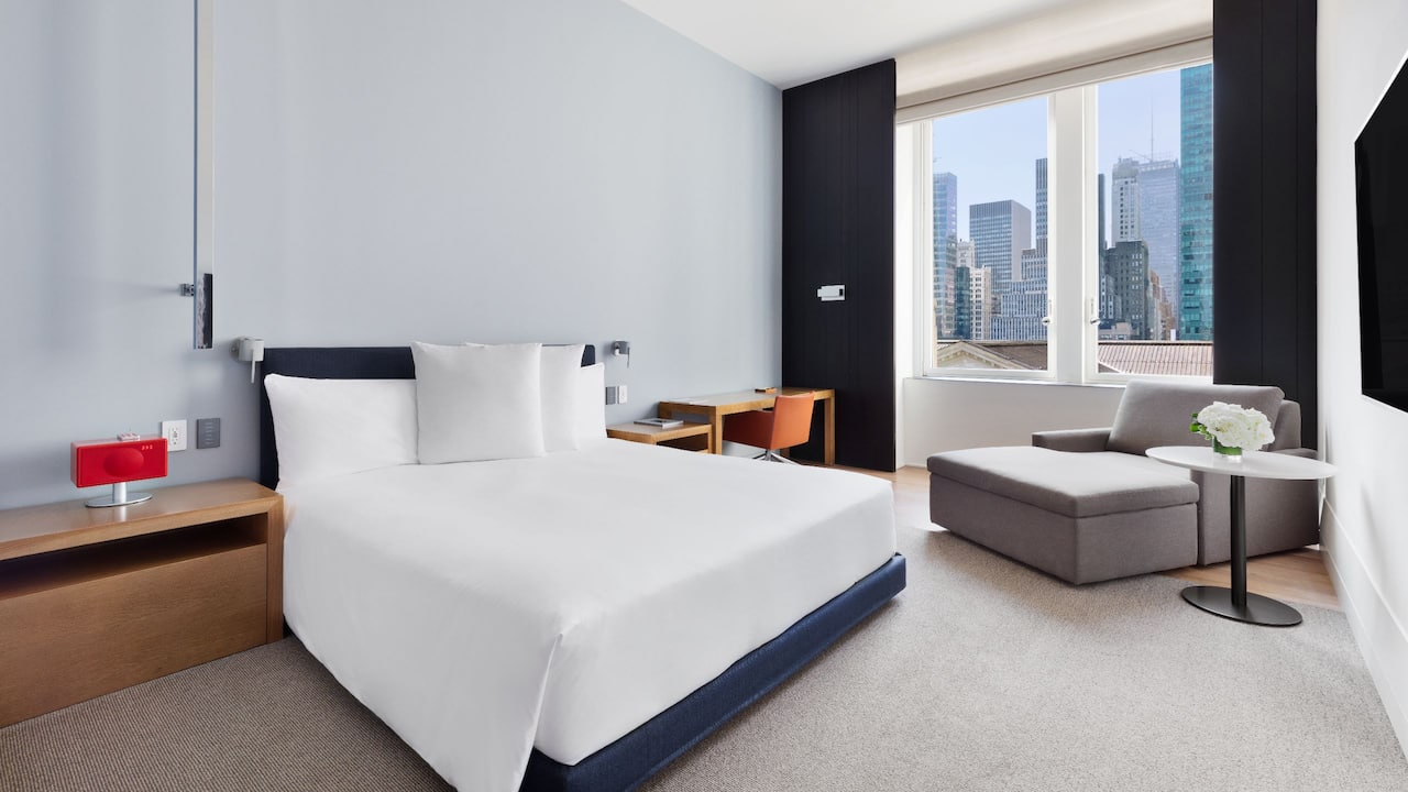 King Guest Room Andaz 5th Avenue