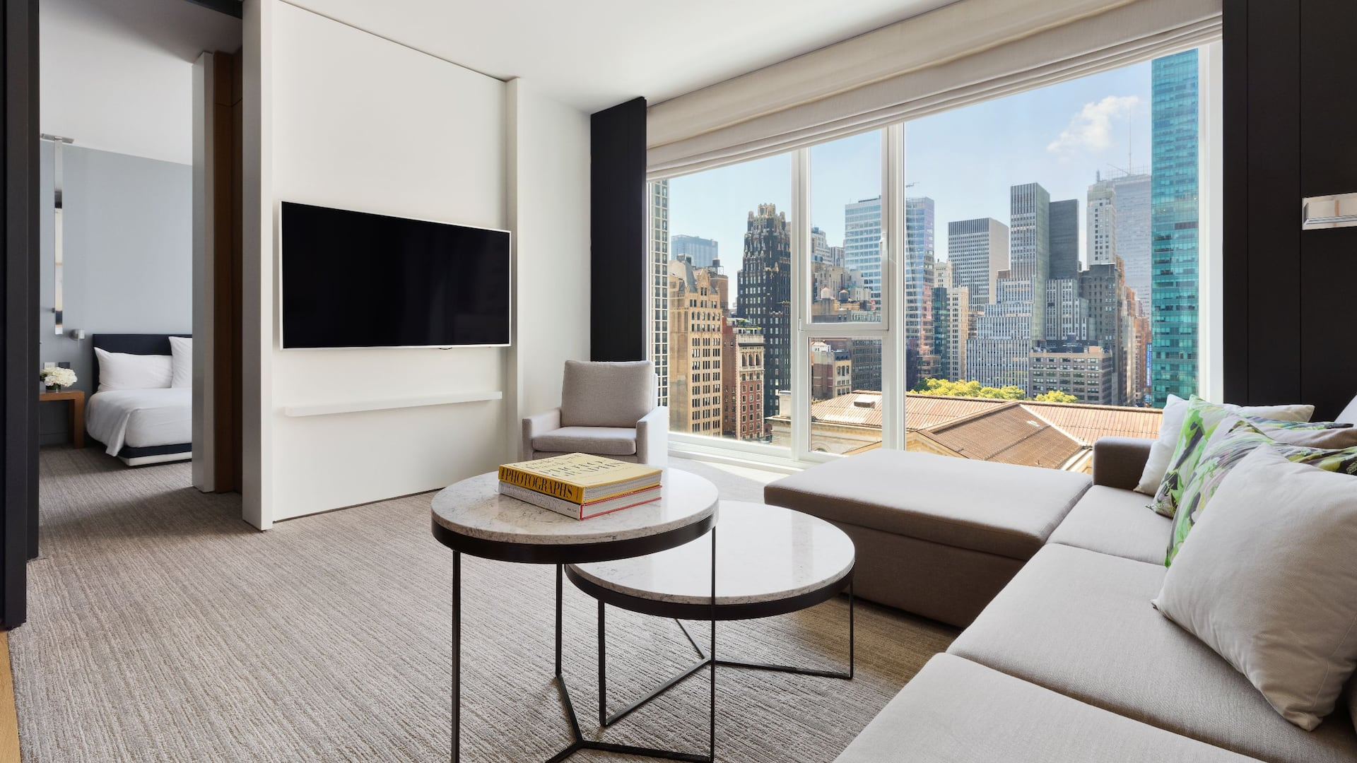 Andaz 5th Avenue City View Suite Living Area