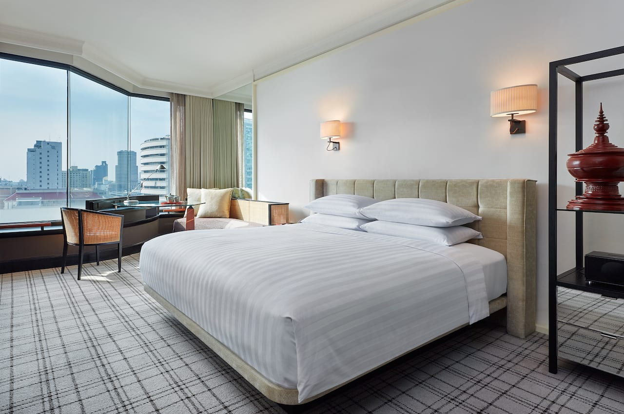 Grand Room with View - Grand Hyatt Erawan Bangkok