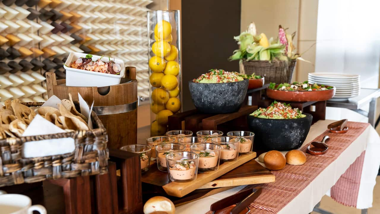 mexican buffet - catering