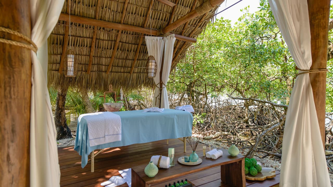 Spa tucked away in the mangroves