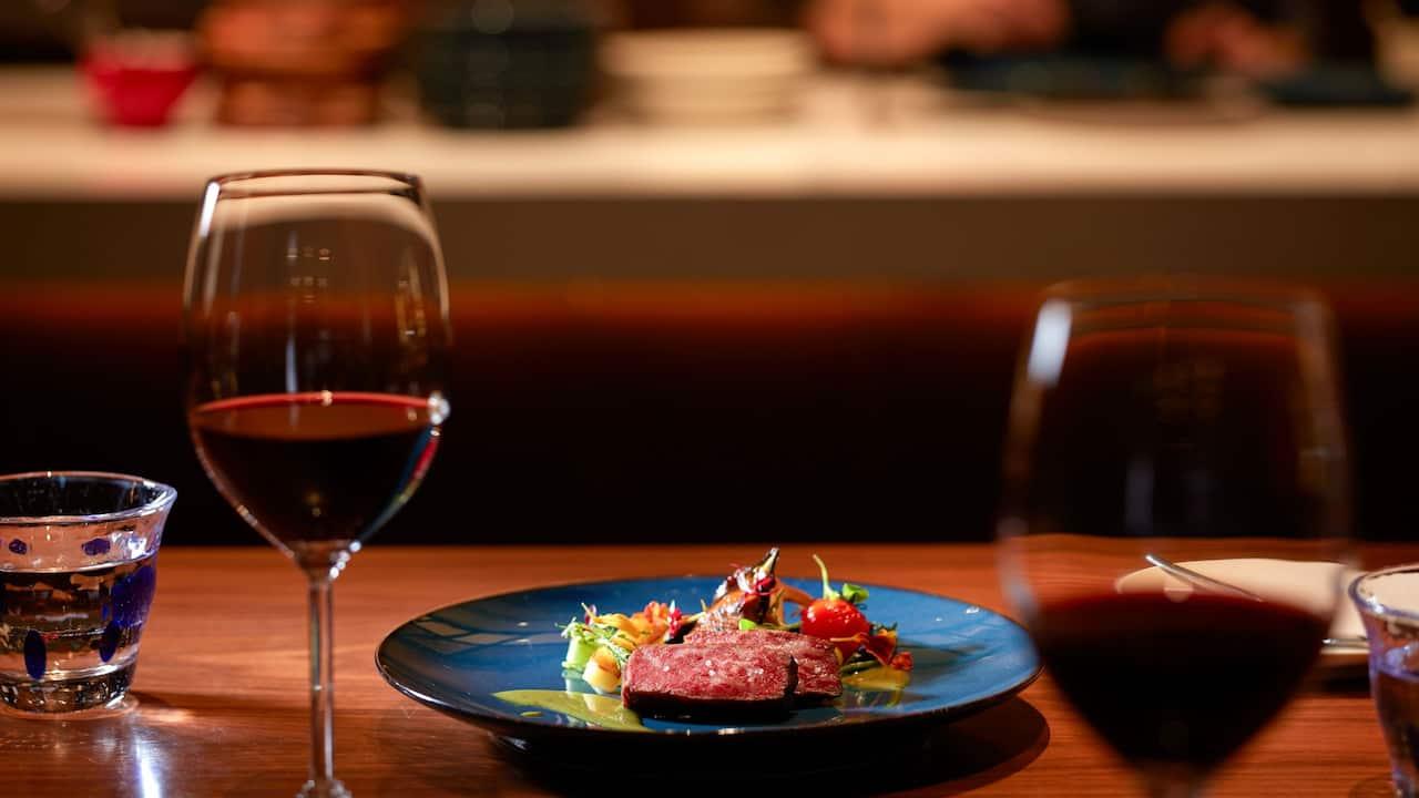 NAMIKI667 Dinner and Wine