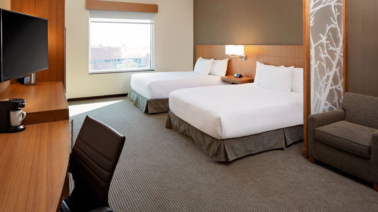 Accessible Room with Two Queen Beds Hyatt Place Glendale Los Angeles