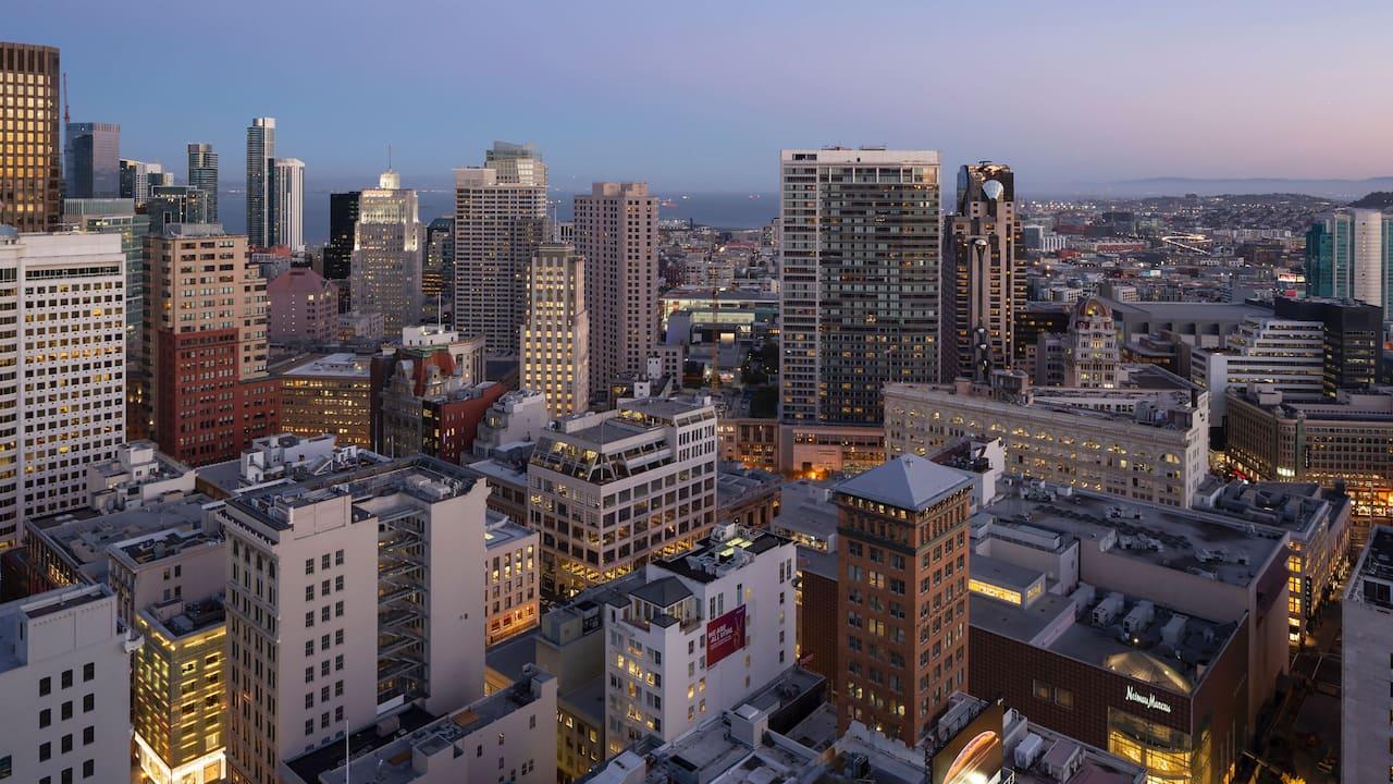 Room View City Night