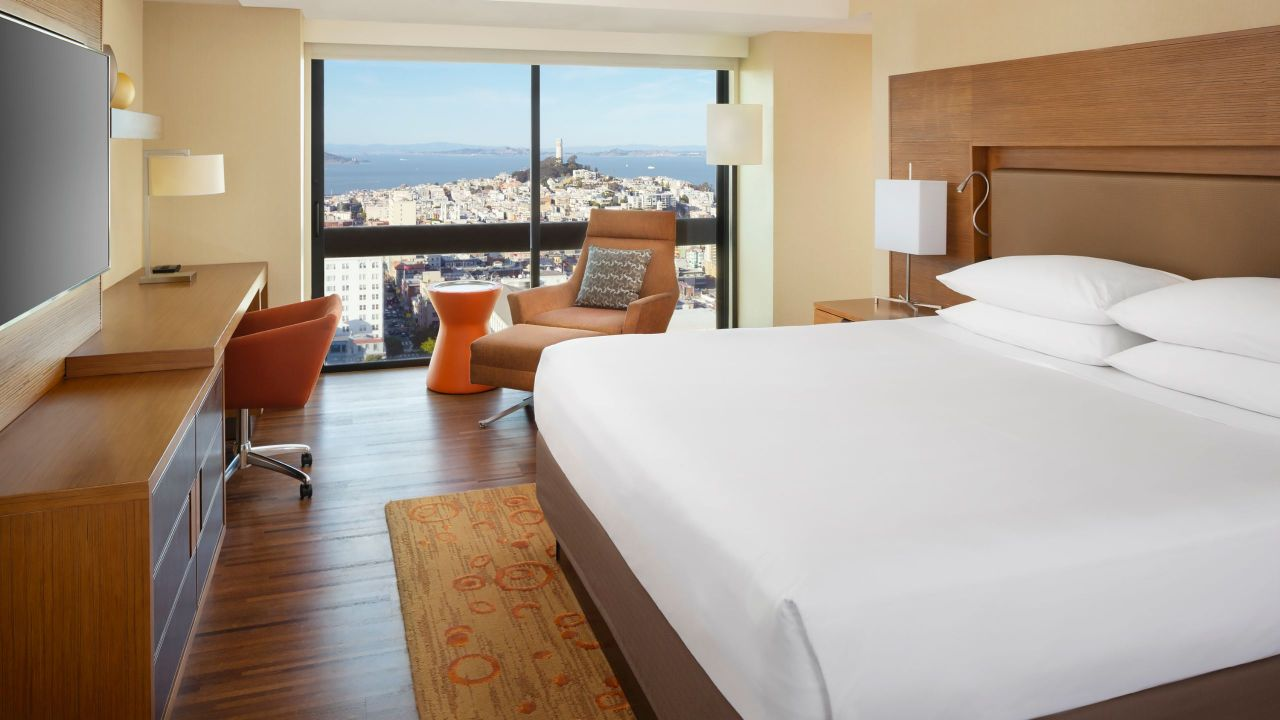 Grand Hyatt San Francisco Guestroom Bay View