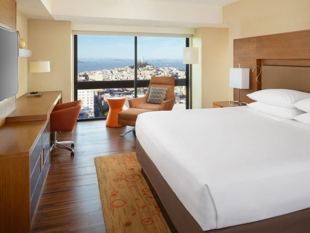 Grand Hyatt San Francisco King Guestroom Bay View