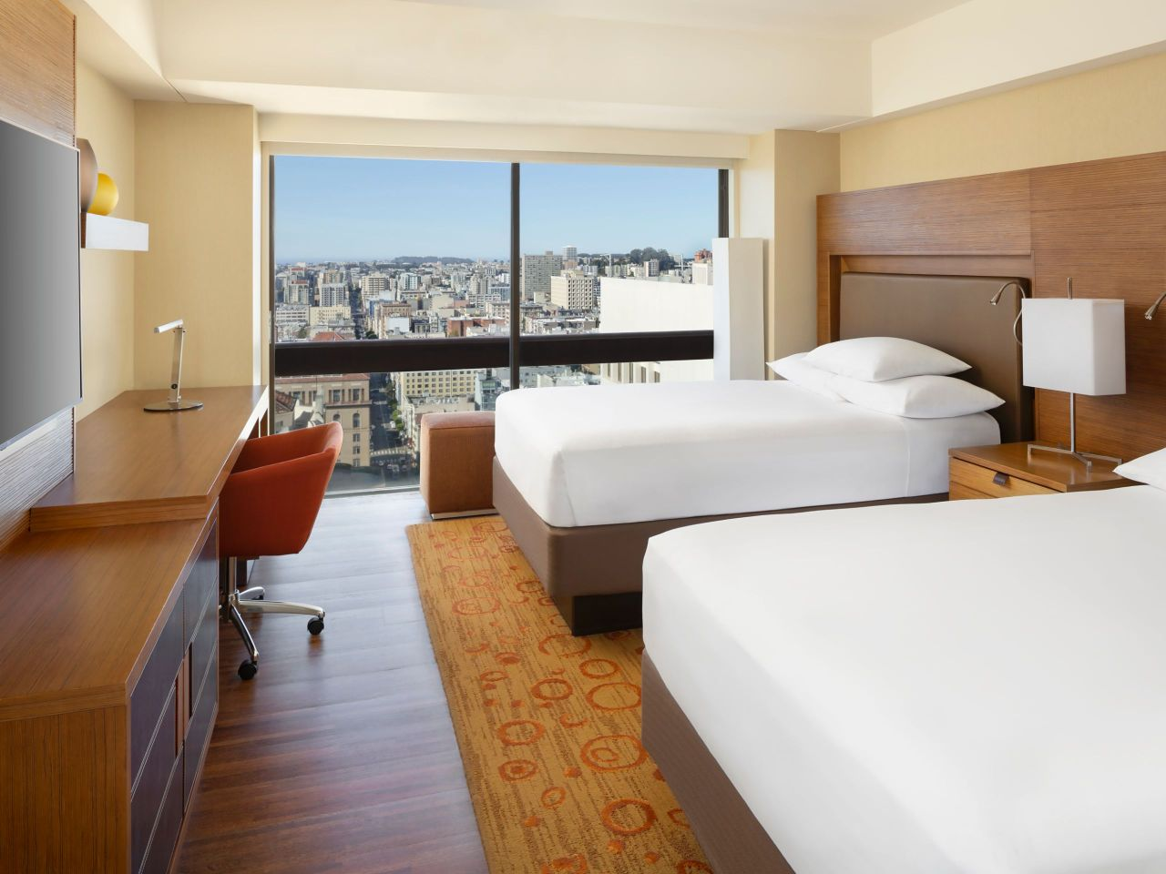 Grand Hyatt San Francisco Double Guestroom City View