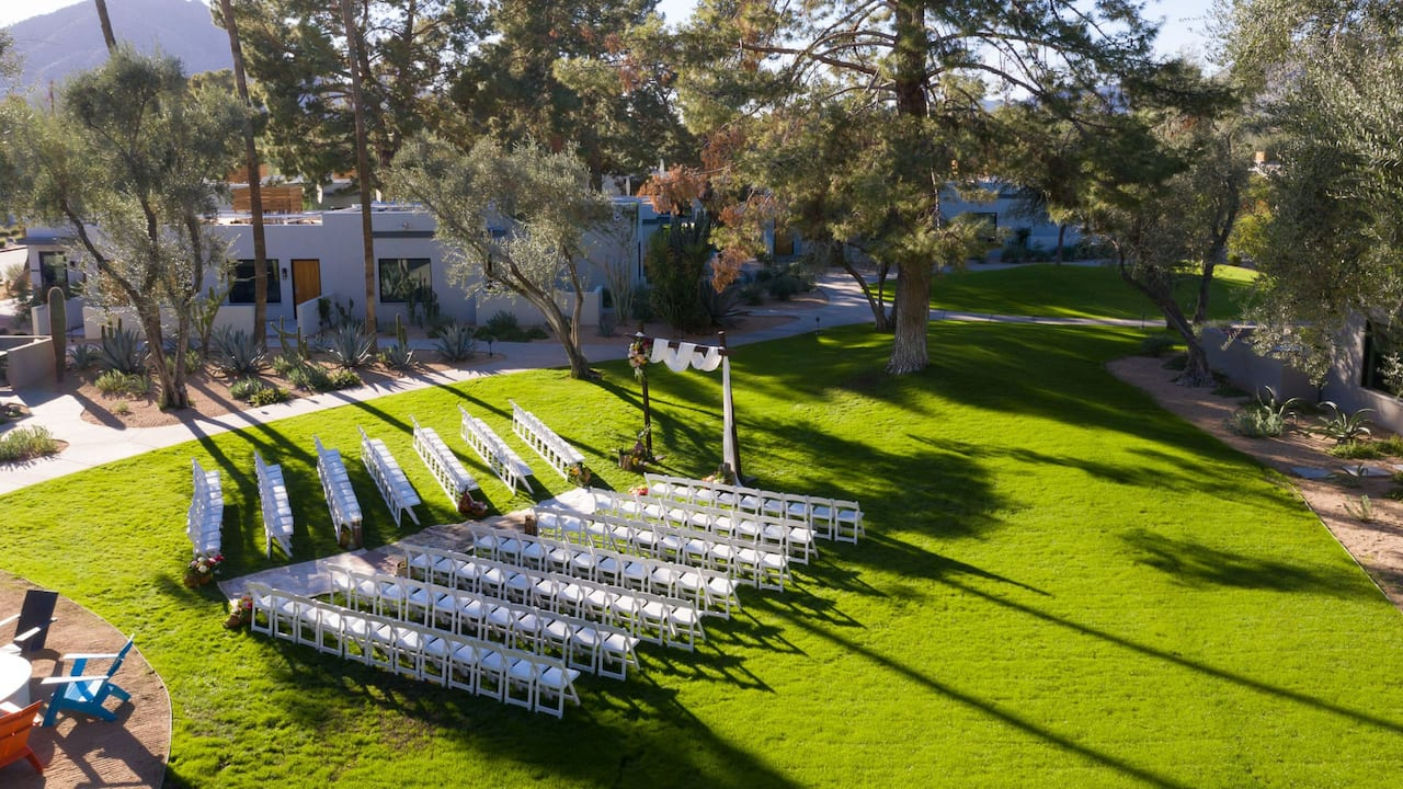 Sonoran Lawn Ceremony