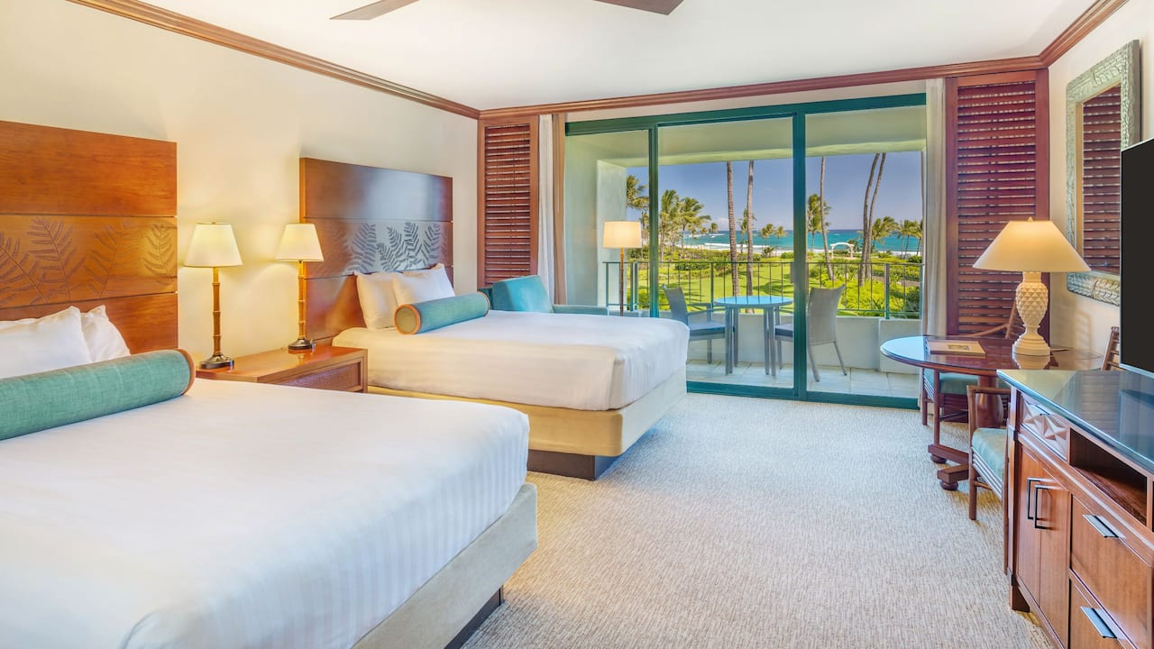 Grand Hyatt Kauai Resort 1 King or 2 Queen beds Club Access