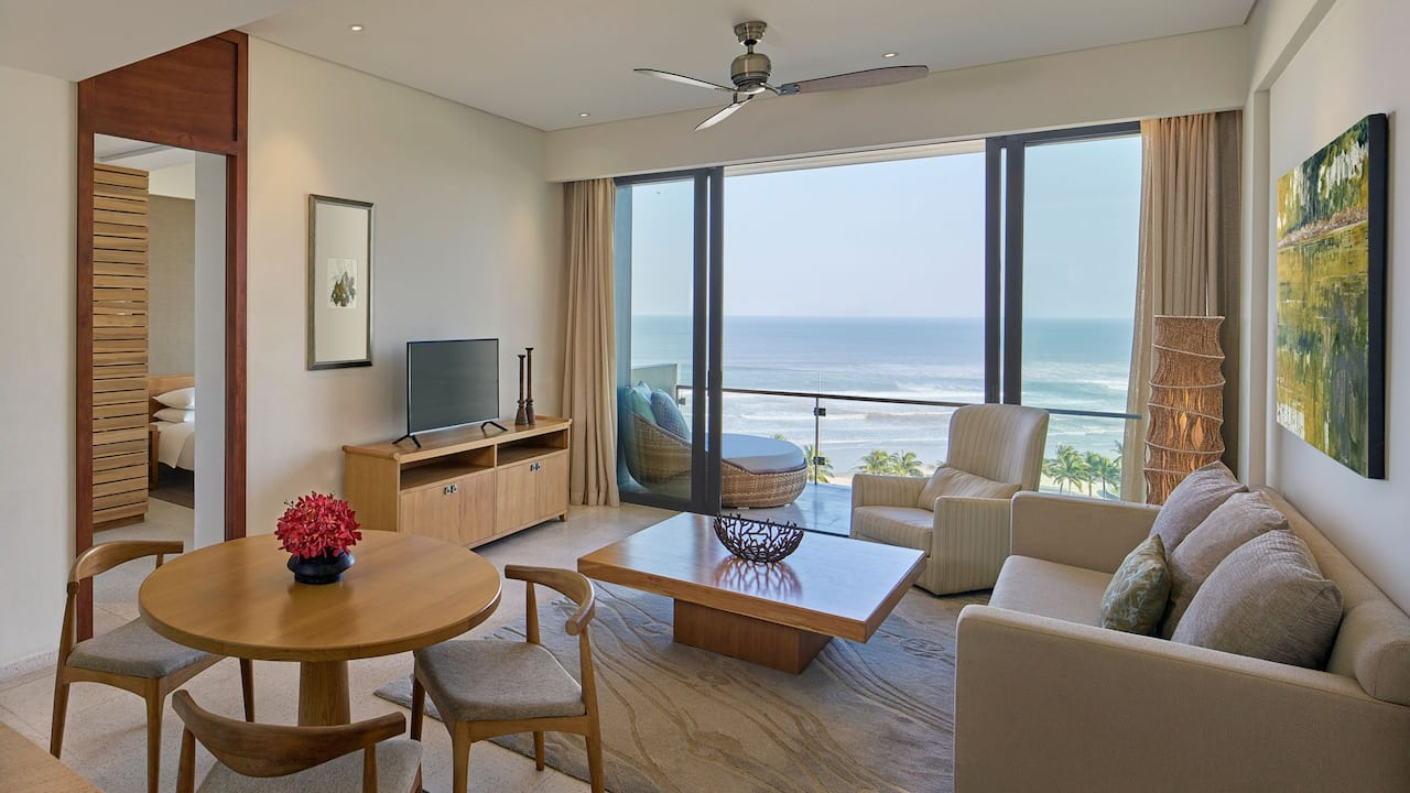 Hyatt Regency Danang Residences, 1 Bedroom Residence with Ocean and Spacious Living Area