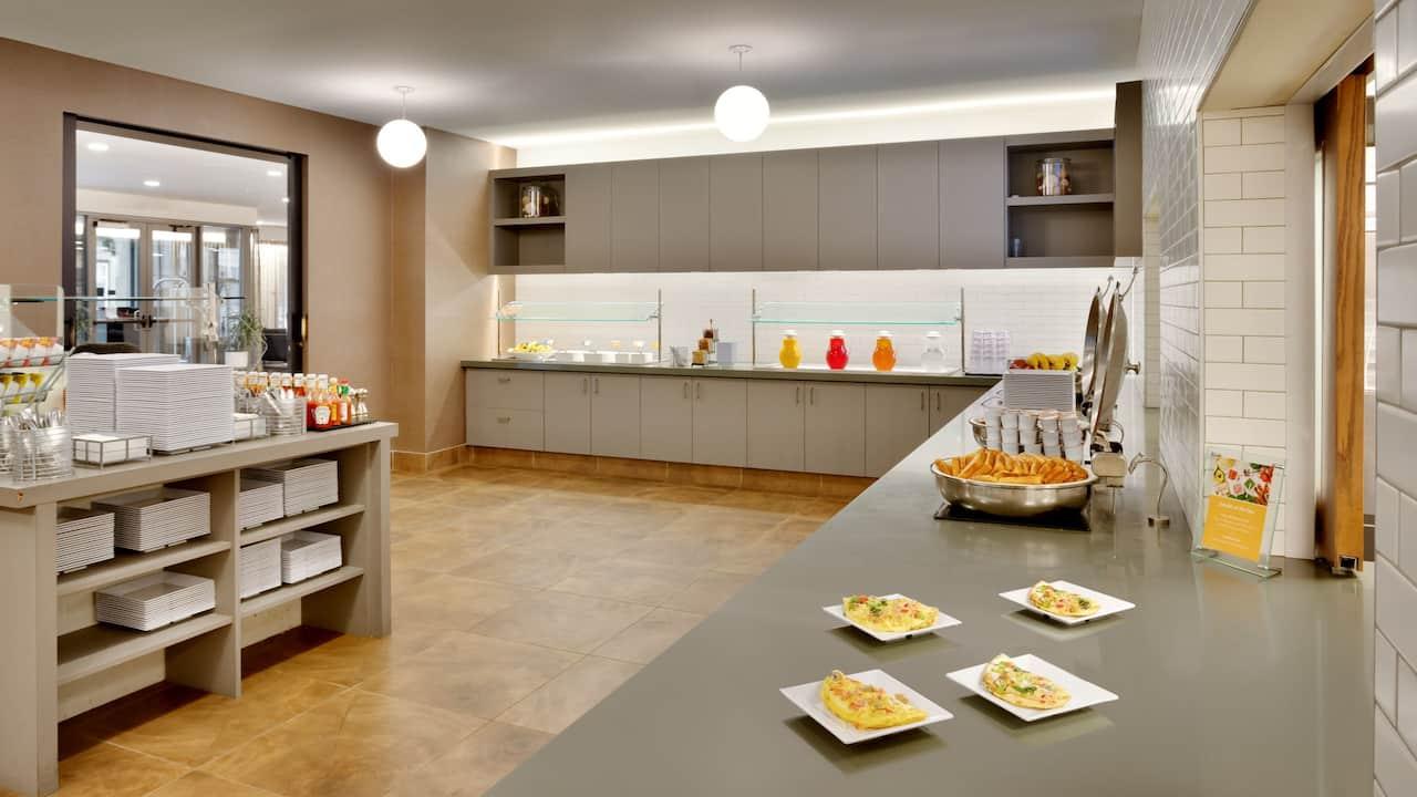 Lobby Kitchen