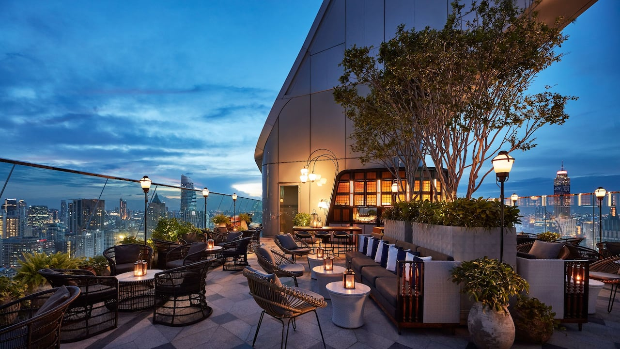 Penthouse Bar and Grill Rooftop