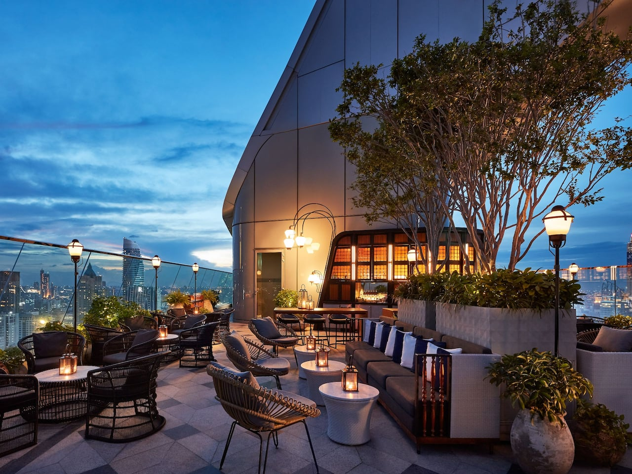 Penthouse Bar + Grill Chefs Table in Bangkok