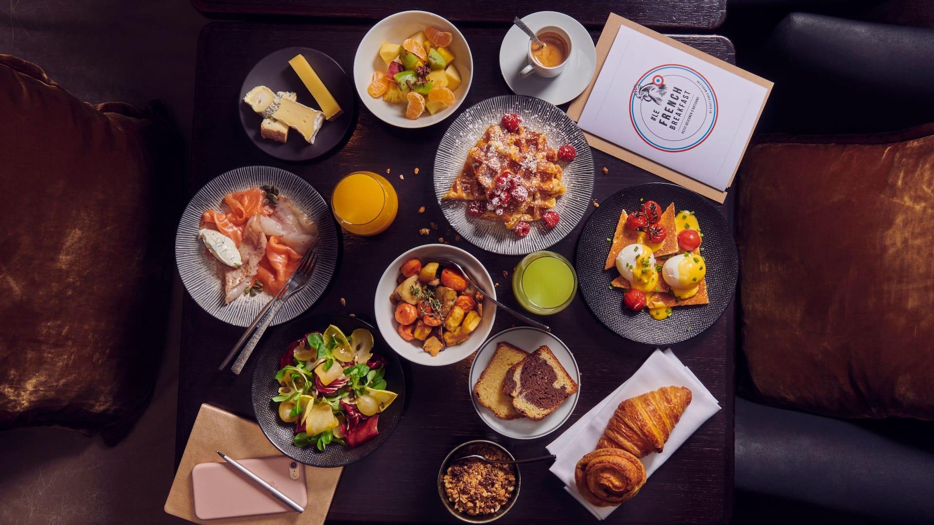 Le French Breakfast - Café M at Hotel Hyatt Paris Madeleine