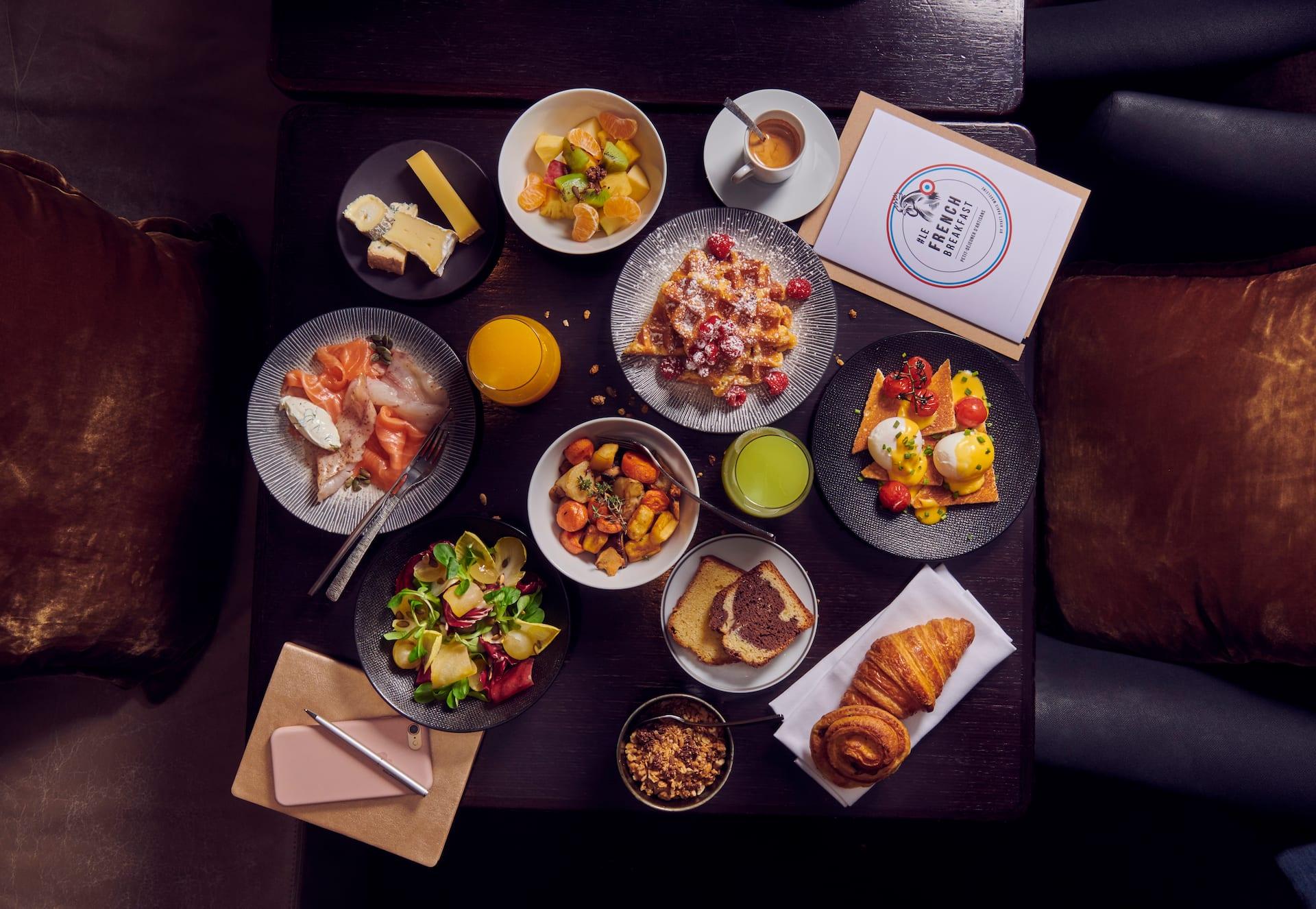 Le French Breakfast - Café M à l'Hôtel Hyatt Paris Madeleine