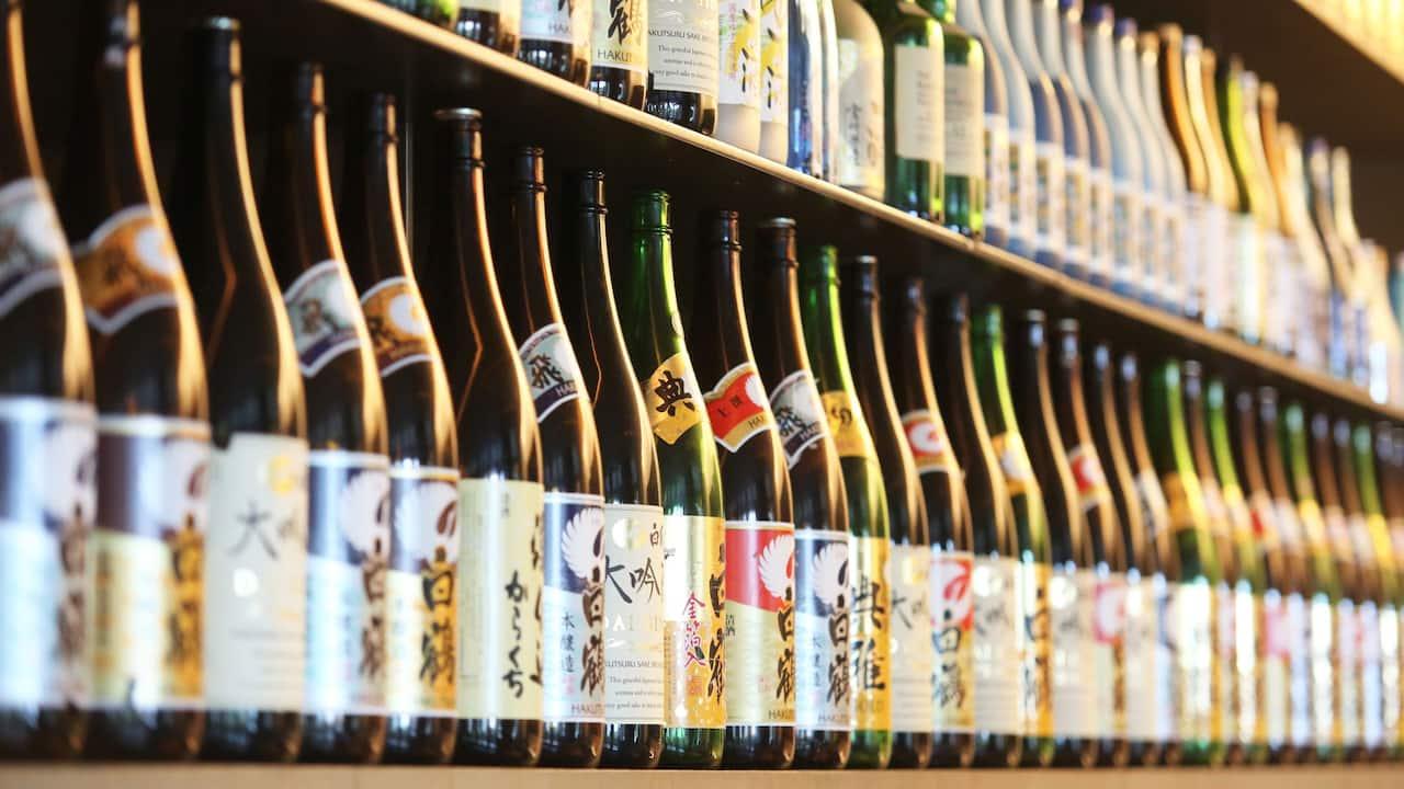 Shiso Sake Shelves