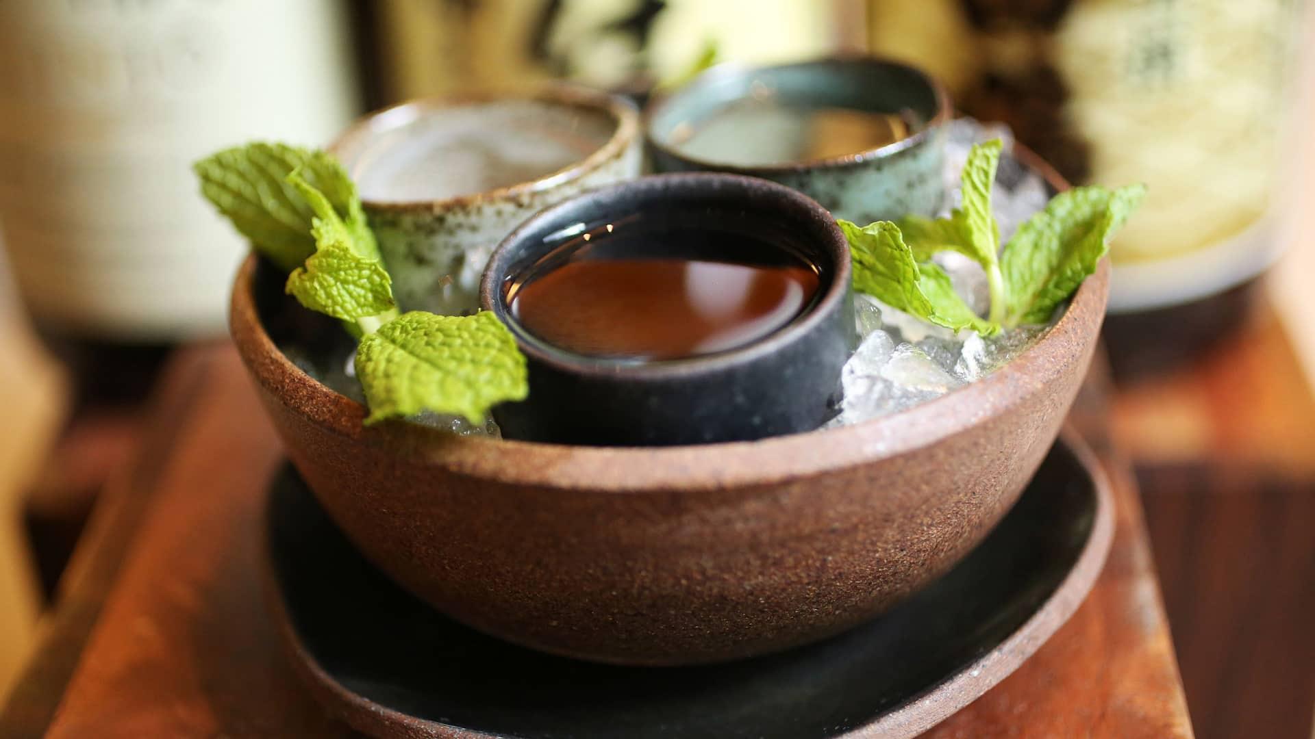 Shiso Sake Tasting