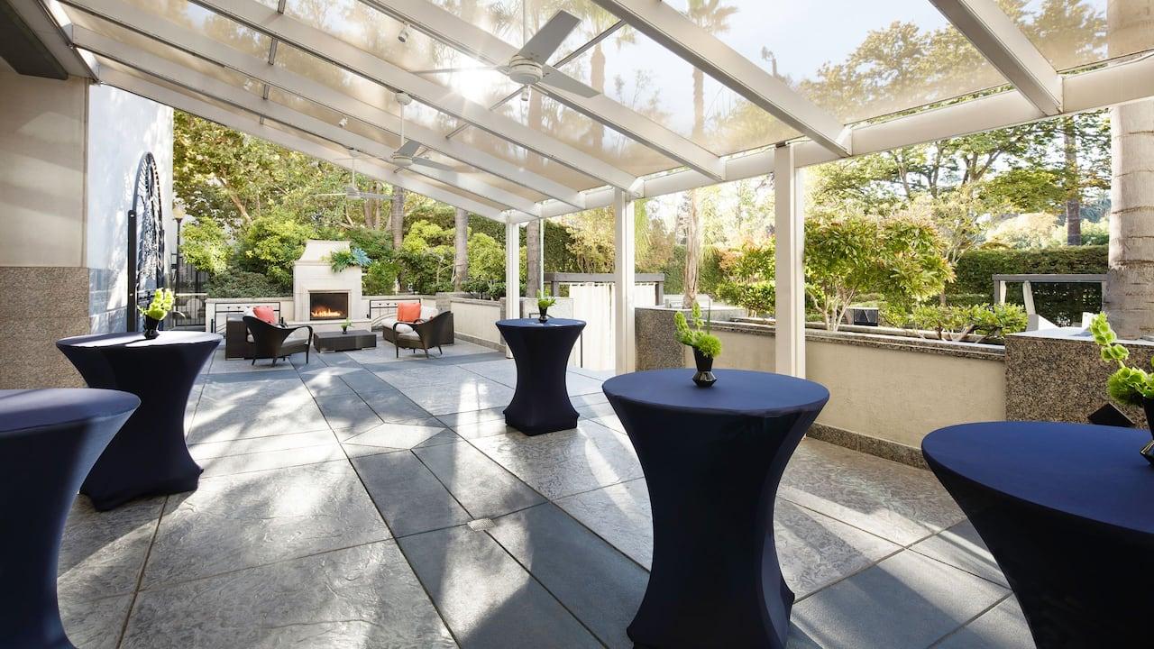 Upper Pool Deck Reception