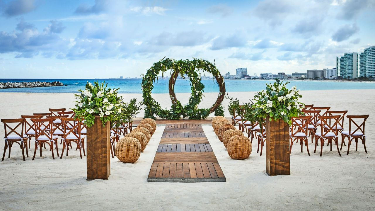 Sahara Beach Wedding