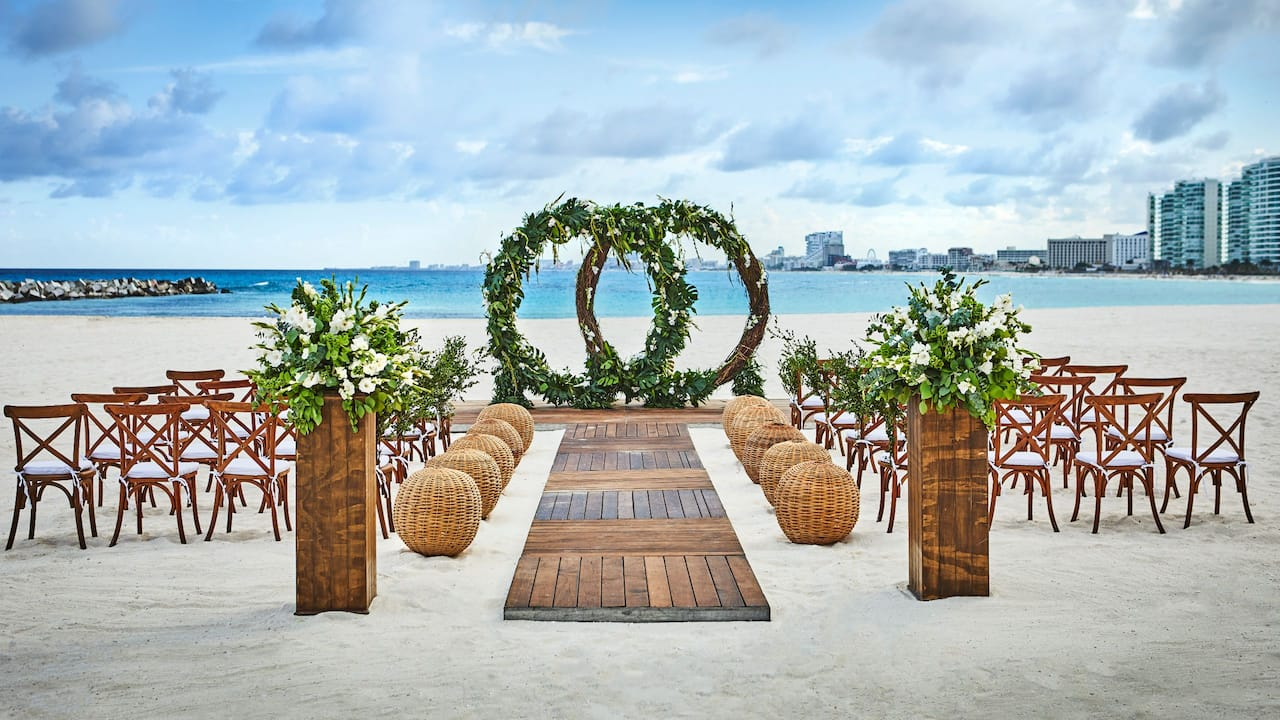 Sahara Beach Wedding