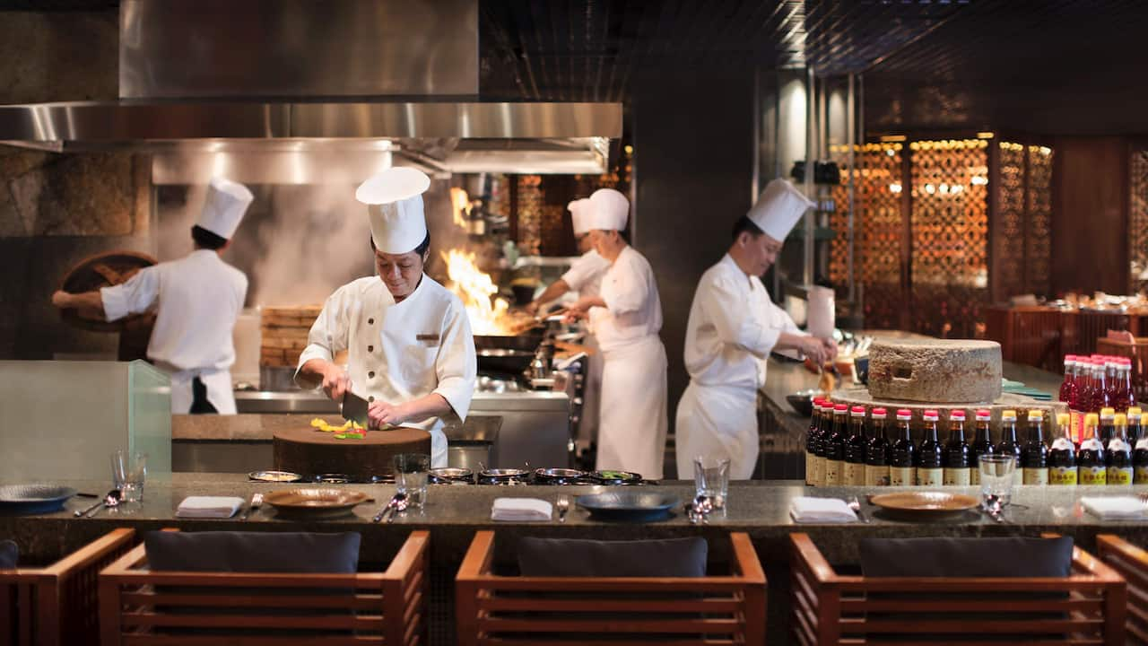 Chefs Showcase mezza9 restaurant at Grand Hyatt Singapore