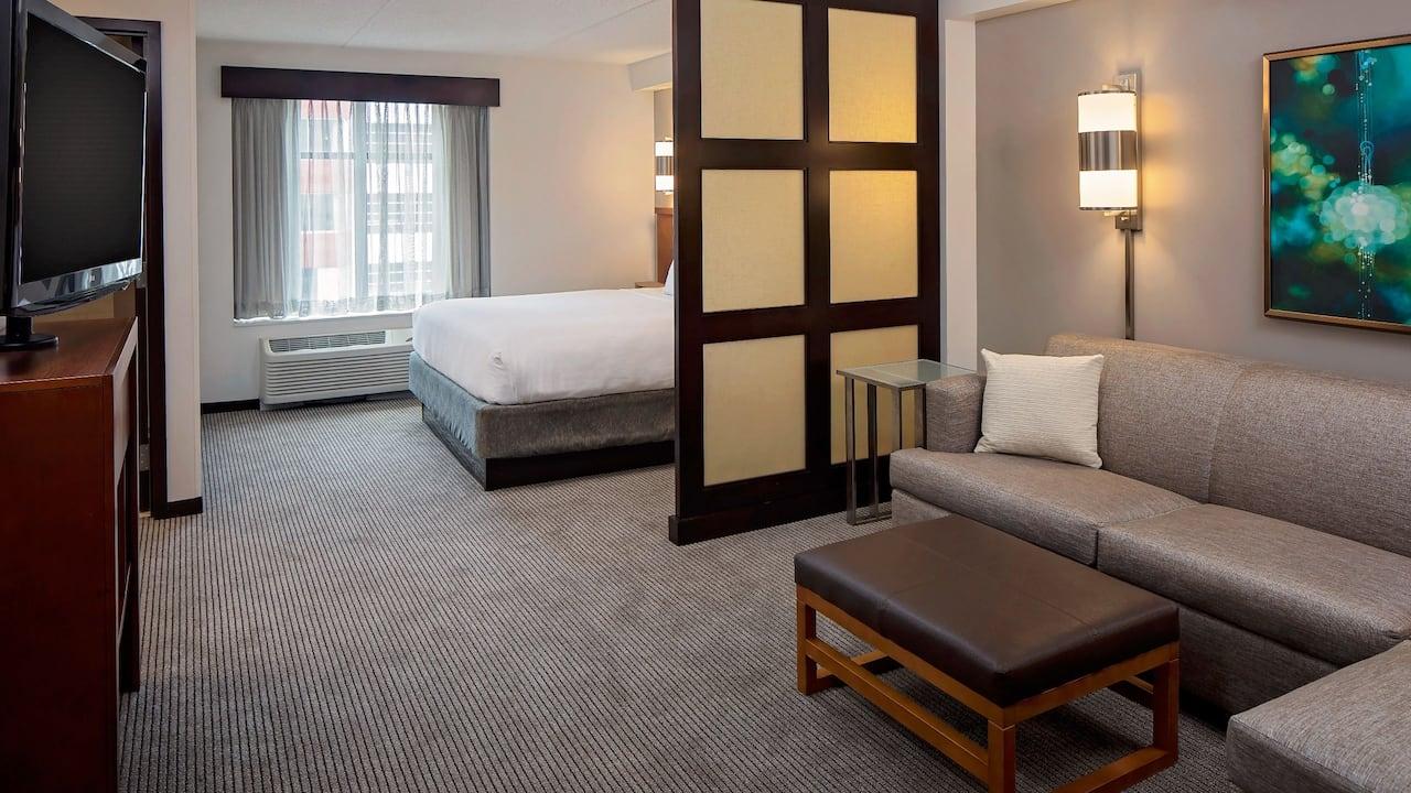 King corner bed