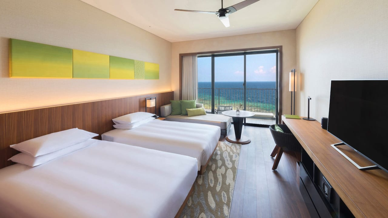 Hyatt Regency Seragaki Island, Okinawa 2 Twin Bed Lagoon View