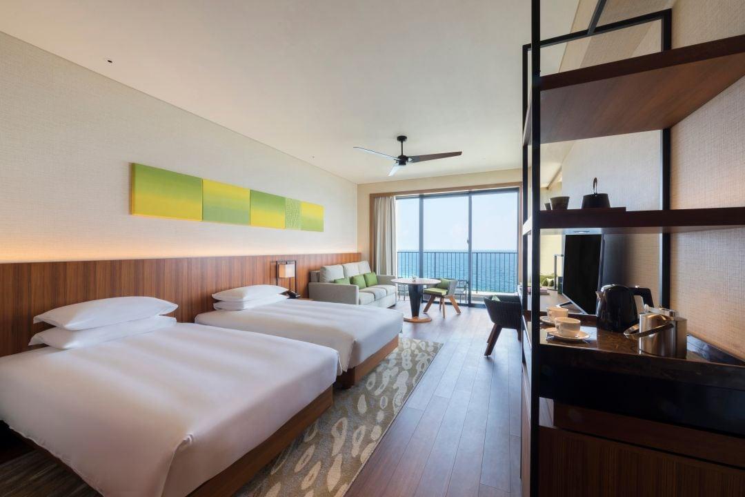 Hyatt Regency Seragaki Island Okinawa Standard Room Twins