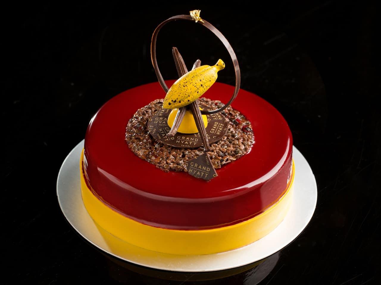 Grand Hyatt Taipei cakes