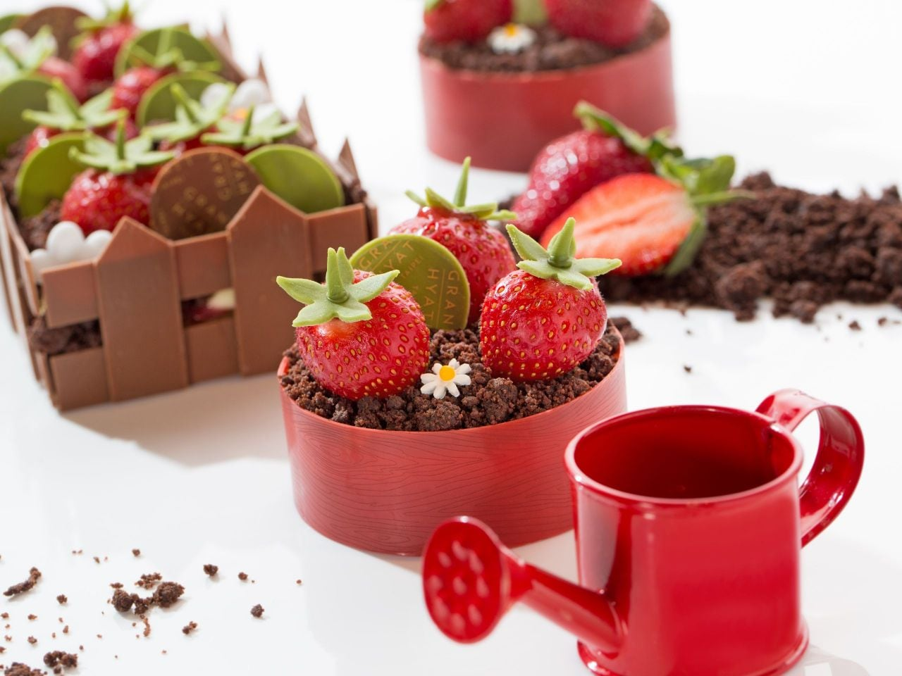 君悅Baguette草莓季