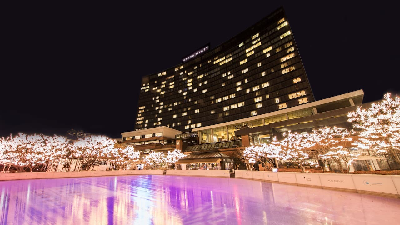 Ice Rink at Grand Hyatt Seoul