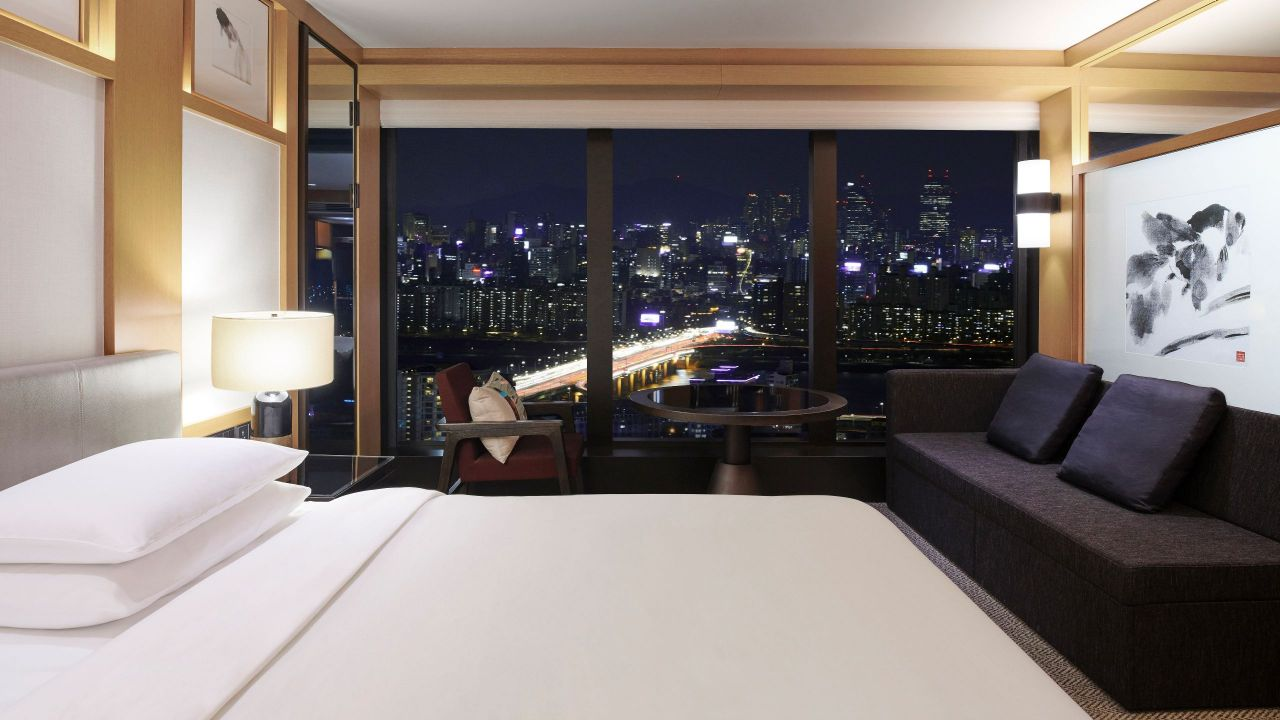 Grand Hyatt Seoul – 2 Twin Beds Room with Exclusive Grand Club Access