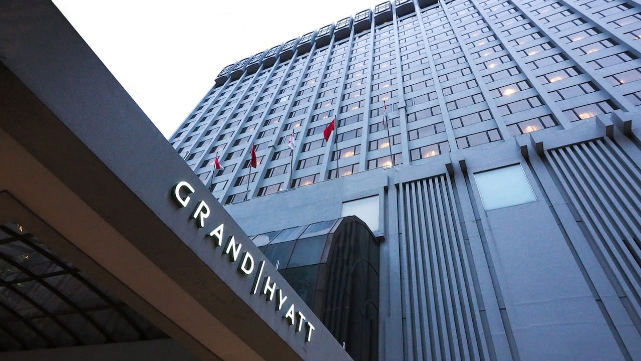 Grand Hyatt 5 star hotels in Singapore Orchard Road
