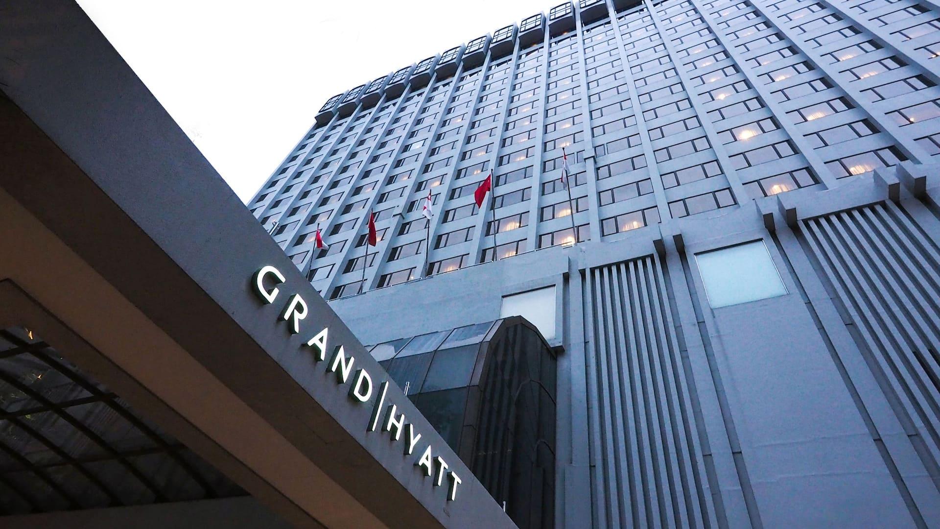 The Grand Hyatt Hotel, 10 Scotts Road, Orchard Singapore