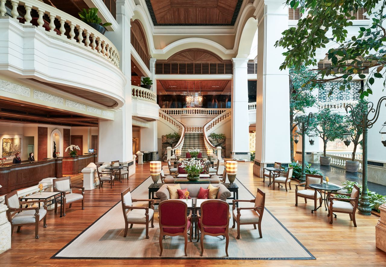 The Garden Lounge - Grand Hyatt Erawan Bangkok