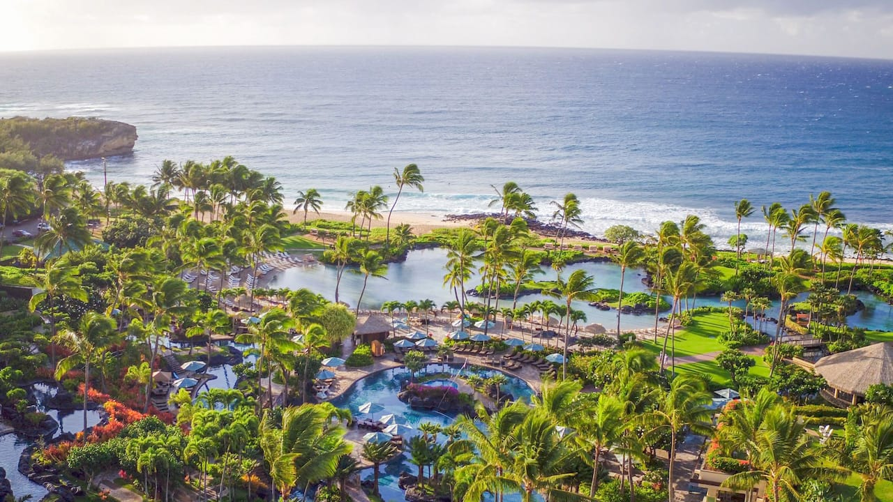Grand Hyatt Kauai Beachfront Resort Water Playground