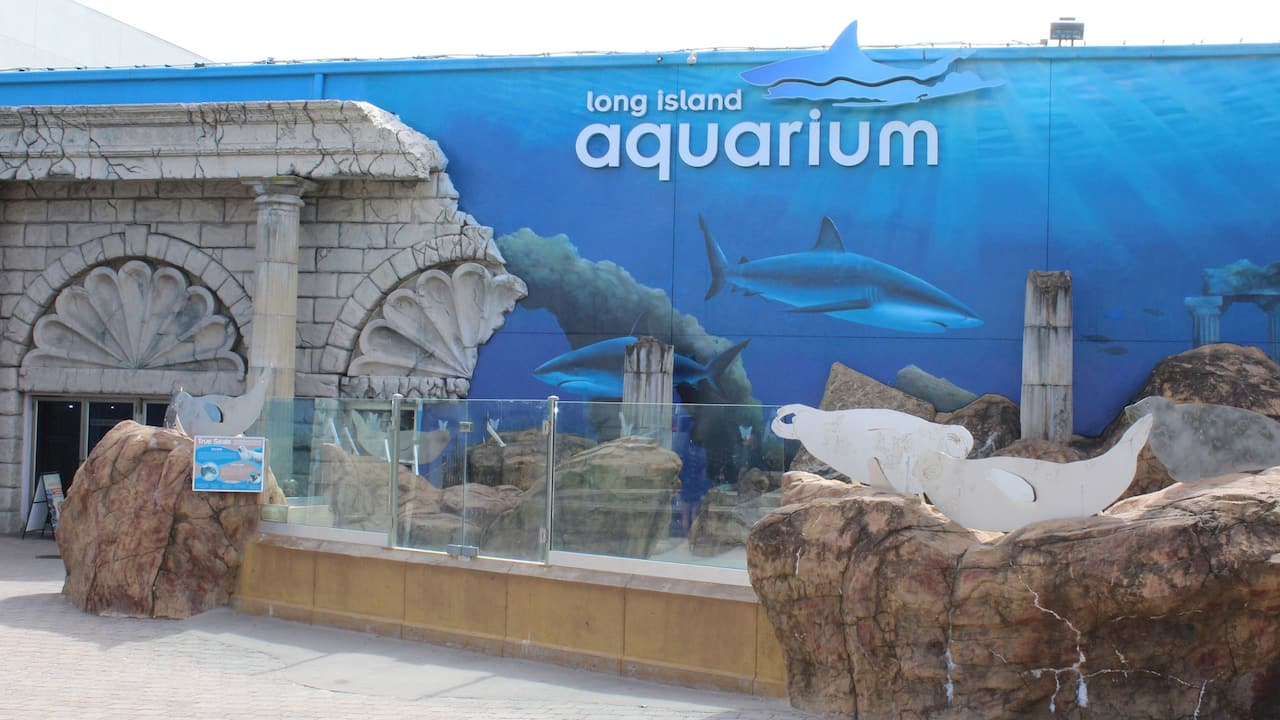 Long Island Aquarium Main Entrance