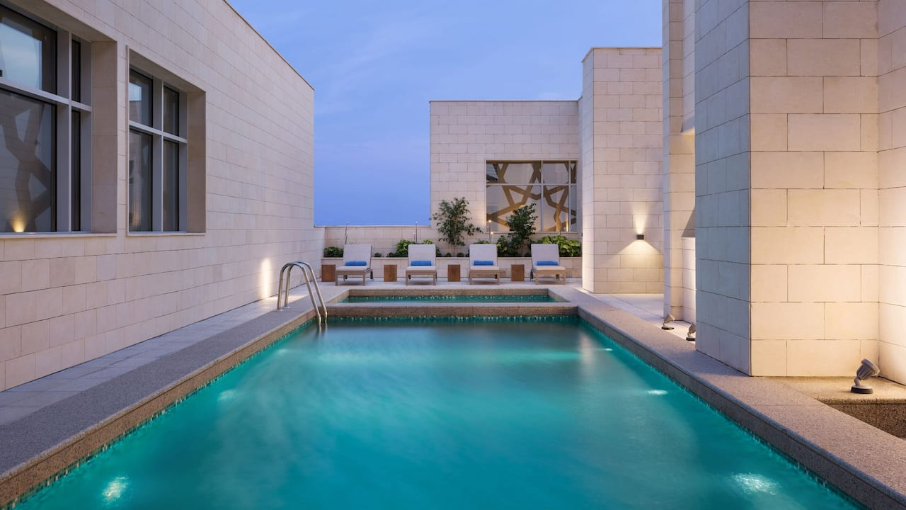 Hyatt House Jeddah Outdoor Pool
