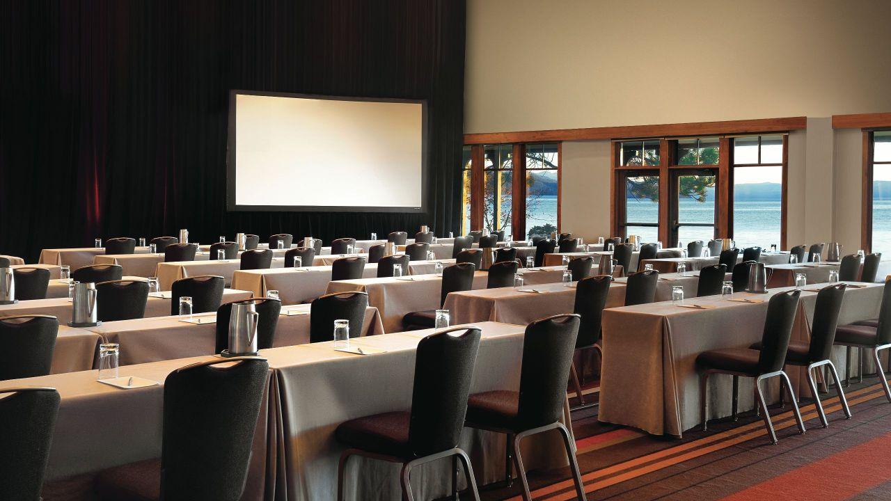 Hyatt Regency Lake Tahoe Resort Spa and Casino Lakeside Ballroom Classroom
