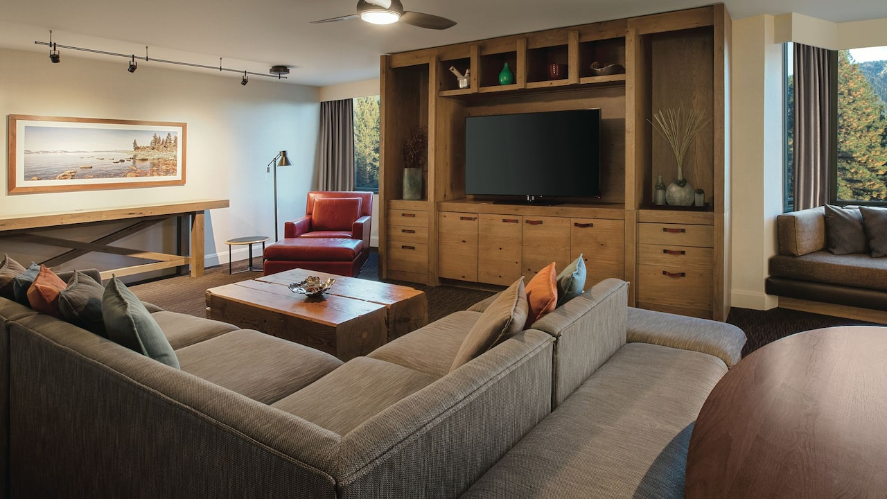 Sierra Suite Living Area