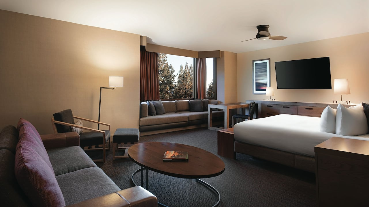 Junior Hotel Suite Hyatt Regency Lake Tahoe Resort, Spa & Casino
