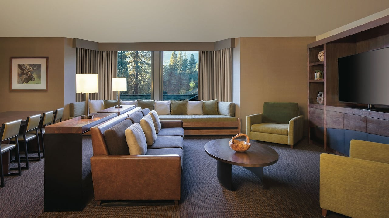 Hospitality Suite with King Bed Hyatt Regency Lake Tahoe Resort, Spa & Casino