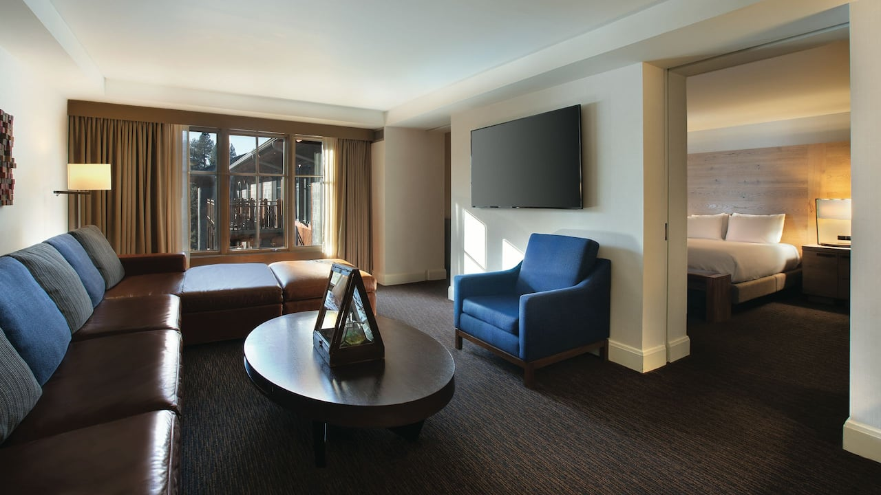 1 Bedroom Suite Living Room Hyatt Regency Lake Tahoe Resort, Spa & Casino
